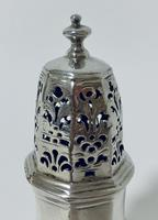 Small 18th Century Solid Sterling Silver Sugar Caster Shaker by Thomas Bamford (4 of 13)
