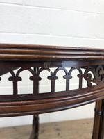 Antique Walnut Circular Centre Table (10 of 10)