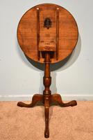 George III Oak Tilting Lamp / Wine Table (4 of 5)