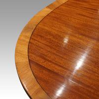 Regency Style Mahogany Dining Table (6 of 10)