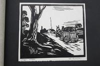 Album of 10 Woodblock Prints by Geoffrey Robert Russell (10 of 12)