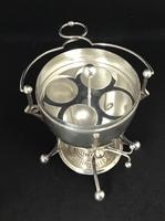 Late Victorian Silver Plated Egg Coddler (4 of 4)