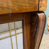 Mahogany Antique Bookcase Cupboard – Charles C Gray 1848 (6 of 9)