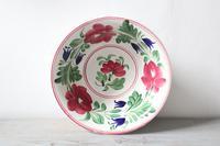 Late 19th Century Scottish Spongeware Pottery Bowl Persian Rose Pattern (6 of 23)