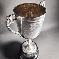 Victorian Silver Twin Handled Trophy (3 of 6)