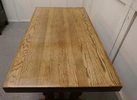 Country Oak Refectory Table (6 of 7)
