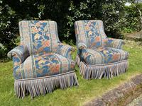 Pair of Small French Armchairs (8 of 8)