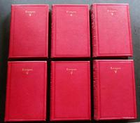 1878 The Poetical Works of Alfred Tennyson 6 x Volumes Full Red Leather Bindings