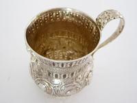 Georgian Silver Christening Mug with a Waisted and Globular Form (5 of 6)