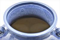 Chinese Hu Shaped Vase – Unusual Lavender Glaze. (5 of 7)