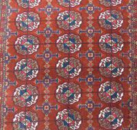 Good Tekke Turkman Carpet c.1930 (6 of 8)
