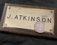 J Atkinson Nameplate (2 of 5)