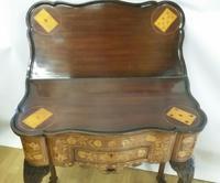 Mid 18th Century Dutch Walnut & Marquetry Games / Tea Table (4 of 8)