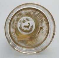 An Extremely Rare & Exceptional St Hubert Gilt Glass Beaker C.18th/early 19thc (9 of 10)