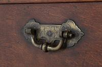 18th Century Oak Silver Chest (2 of 8)