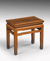 Small Early 20th Century Rectangular End Table (4 of 5)