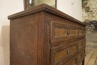 Louis XVI Period Original Painted Commode - Chest of Drawers (13 of 14)