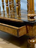 Victorian Inlaid Walnut Canterbury What Not (5 of 11)