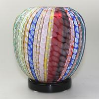 Museum Quality Very Fine Gino Cenedese Murano Vetri Textured Vase - Mid 20th Century (3 of 11)