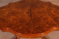 Victorian Coffee Table in Burr Walnut (4 of 5)