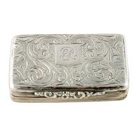 William iv sterling silver vinaigrette (4 of 4)
