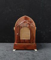 German Rosewood Ting Tang Mantel Clock by Winterhalder & Hofmeier (3 of 7)