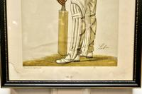 """Collection of 4 Vanity Fair Cricketing  Themed """"Spy""""Prints (11 of 11)"""