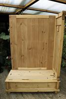 Fabulous & Large Old Pine Double 'Knock Down' Wardrobe - We Deliver! (8 of 18)