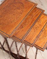 Edwardian Mahogany Nest of Tables (5 of 7)