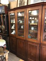 4 Door Mahogany Library Bookcase (8 of 10)