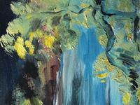 20th Century Oil Painting Wales Menai Bridge Church Straits Snowdonia Mountains (27 of 27)