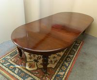Large Mahogany Dining Table (2 of 7)