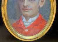 Fine 19thc Miniature Watercolour Portrait Painting of 'William George Dickinson' (8 of 11)