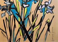 Large Beautiful 1958 Vintage Impressionist Floral Still Life Oil Painting (8 of 12)