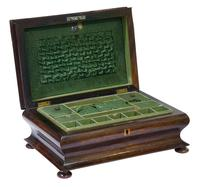 Victorian Rosewood Jewellery / Sewing Box (5 of 8)