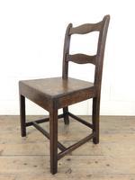 Set of Four 19th Century Oak Farmhouse Chairs (M-189) (12 of 17)