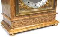 Perfect Vintage Mantel Clock Bracket Clock by Elliott of London Retailed by G H Pressley & Sons (3 of 8)