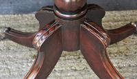Elegant Regency Mahogany D-end Tea Table / Side Table / Hall Table  c.1820 (9 of 11)