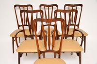 1960's Danish  Rosewood &  Leather Dining Chairs by Niels Kofoed (11 of 12)