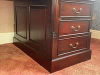 Large Georgian Style Double Sided Partners Desk (6 of 51)