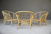 Single Bamboo Cane Tub Chair. (6 of 12)
