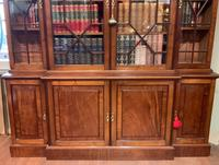 Late Victorian Mahogany 4 Door Library Bookcase (2 of 13)