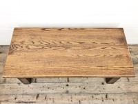Vintage Solid Oak Low Occasional Table (2 of 7)
