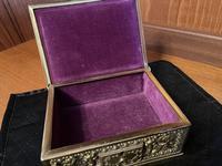Erhard & Sohne Brass Table Casket (5 of 8)