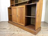Large 19th Century Antique Oak Bookcase (9 of 11)