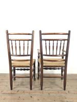 Set of Eight Spindle Back Chairs (10 of 10)