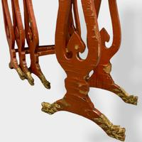 Crutsy Nest of 4 Chinese Red Lacquered Tables (13 of 13)