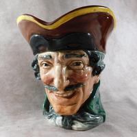 "Large Royal Doulton  ""Dick Turpin"" Character Jug (4 of 5)"