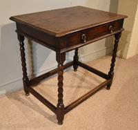 Chanrming 18th Century Oak Side Table (3 of 5)