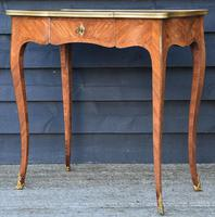 Exceptional Quality 19th Century French Kingwood Writing Table/ Lamp Table/ Centre Table. (5 of 15)